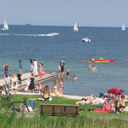 One of Copenhagen's beaches