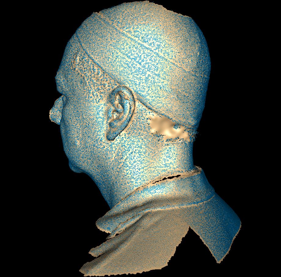 Markov Random Field Surface Reconstruction Examples